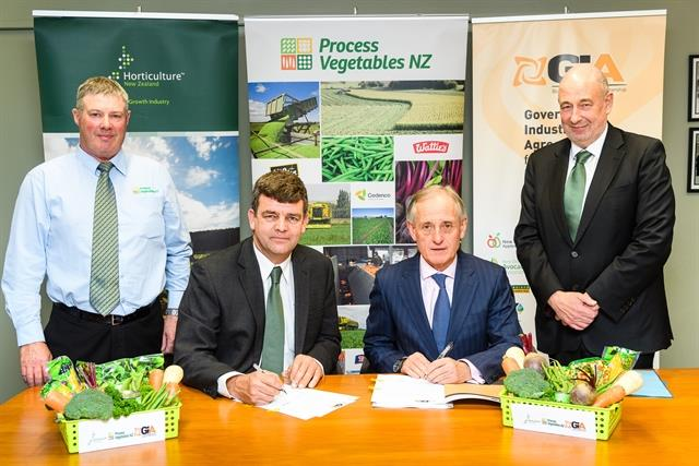 Process vegetable industry signs up to GIA