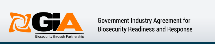 GIA - Government Industry Agreement for Biosecurity Readiness and Response